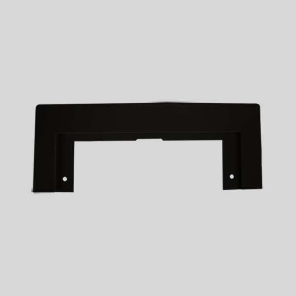 Black Vacpan Plate