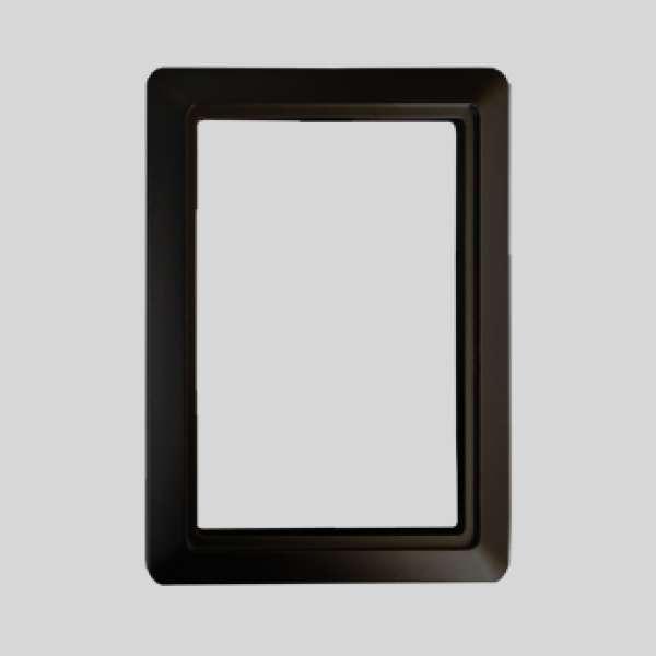 Elegance Black Plate