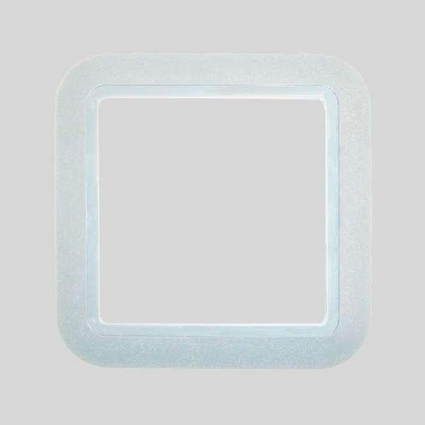 European PVC White Plate