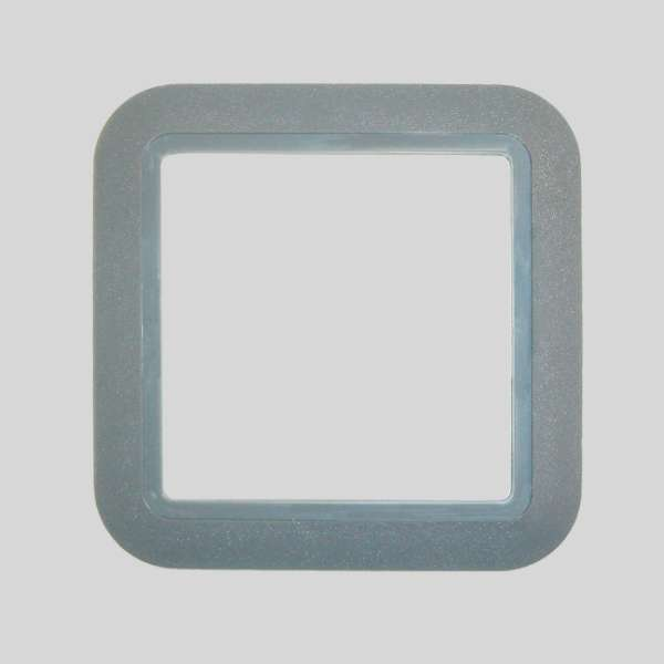 European PVC Light Gray Plate