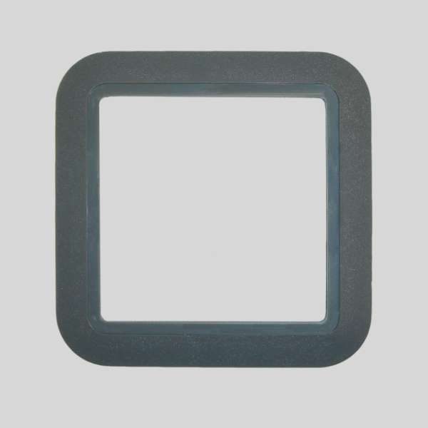 European PVC Dark Gray Plate