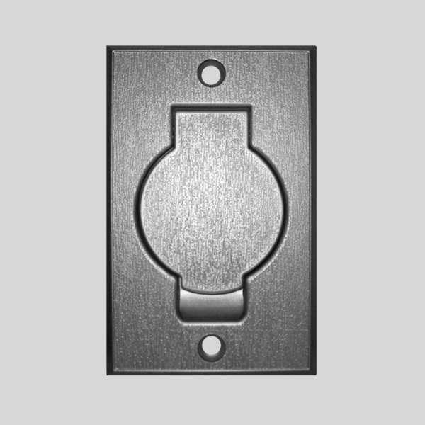 Silver Round Door Inlet Valve