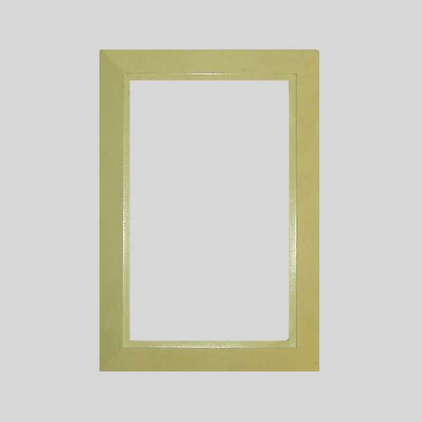 Ivory Round Door Plate