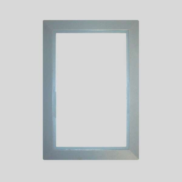 Light Gray Round Door Plate