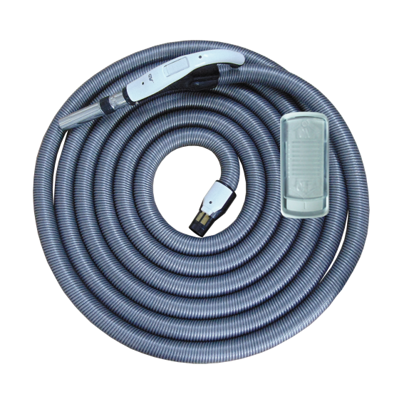 On/Off Hose with Swivel Cuff and Slide Switch Handle - 9 m