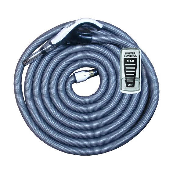 On/Off Hose with Swivel Cuff and Power Control Switch Handle - 7 m