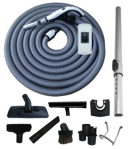 Kit Special + On/Off Hose with Swivel Cuff and Button Switch Handle - 15m
