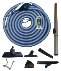Power Kit + On/Off Hose with Swivel Cuff and Power Control Switch Handle - 7m