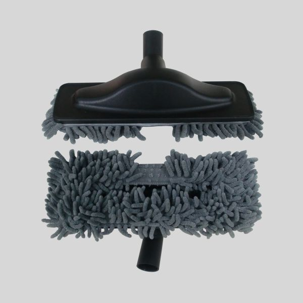 Mopa Brush Gray Microfiber
