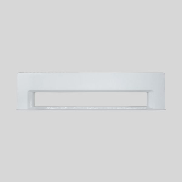 White Rectangular Kitchlet Front