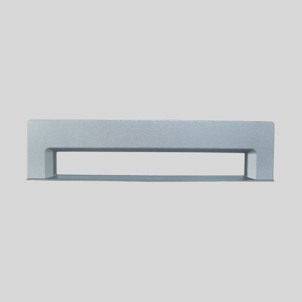 Silver Rectangular Kitchlet Front