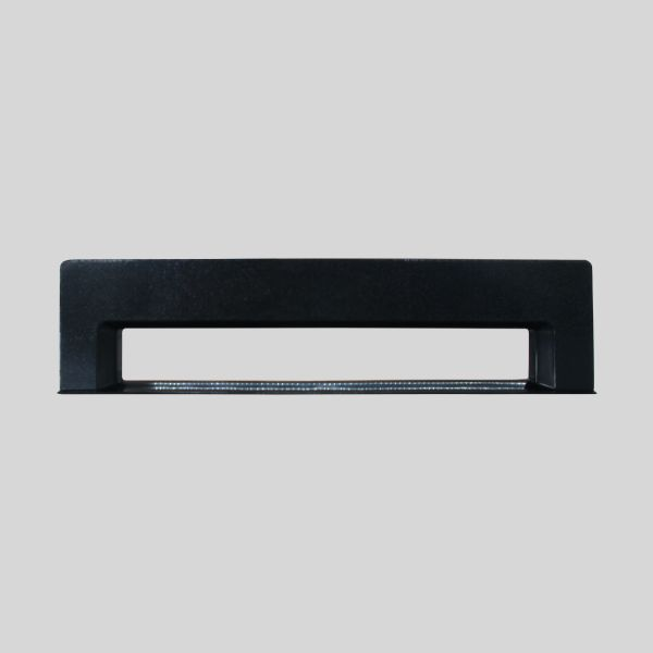 Black Rectangular Kitchlet Front