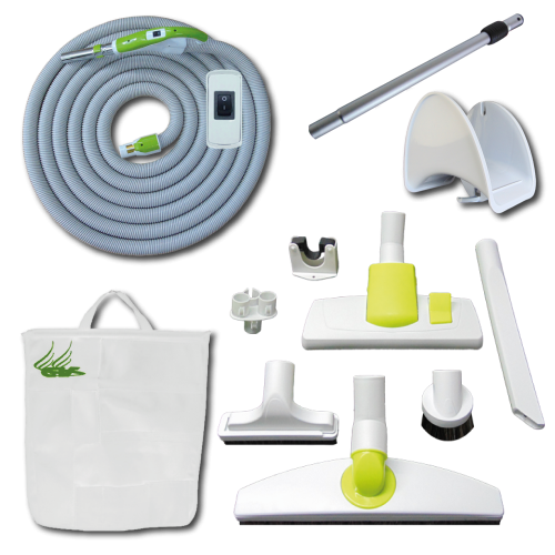 Kit Play + On/Off Hose with Swivel Cuff and Button Switch Handle - 12 m