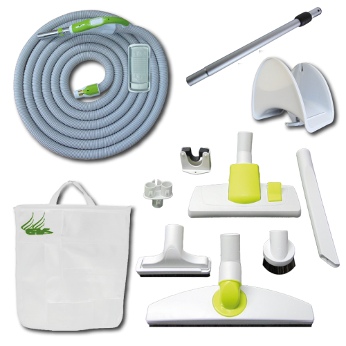 Kit Play + On/Off Hose with Swivel Cuff and Slide Switch Handle - 12 m
