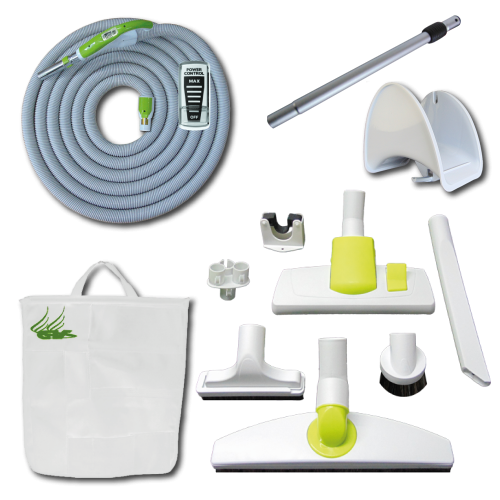 Kit Play + On/Off Hose with Swivel Cuff and Power Control Switch Handle - 15 m