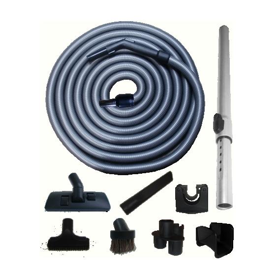 Kit Light + STD Hose with Swivel Cuff and Plastic Handle - 12 m