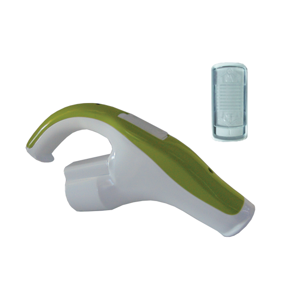 Slide On-Off Handle Green