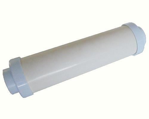 Round Muffler Large - White
