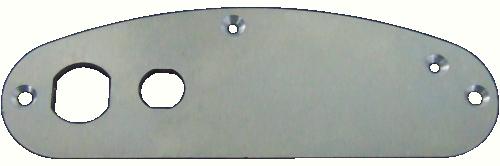 Support Plate Supra - Metallic