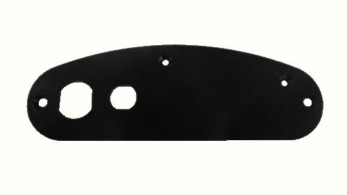 Support Plate Supra - Black Plastic
