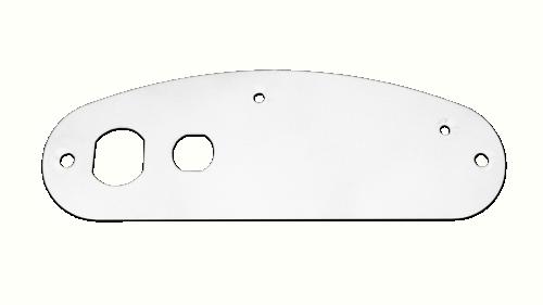 Support Plate Supra - White Plastic