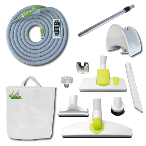 Kit Play + On/Off Hose with Swivel Cuff and Power Control Switch Handle - 9 m